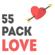 Icon Elements Pack - Love - VideoHive Item for Sale