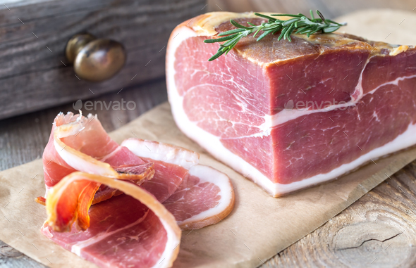 Prosciutto - Stock Photo - Images