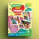 Kids Activities | Kids Camp Flyer