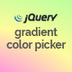 ColoringPick – jQuery Gradient Color Picker