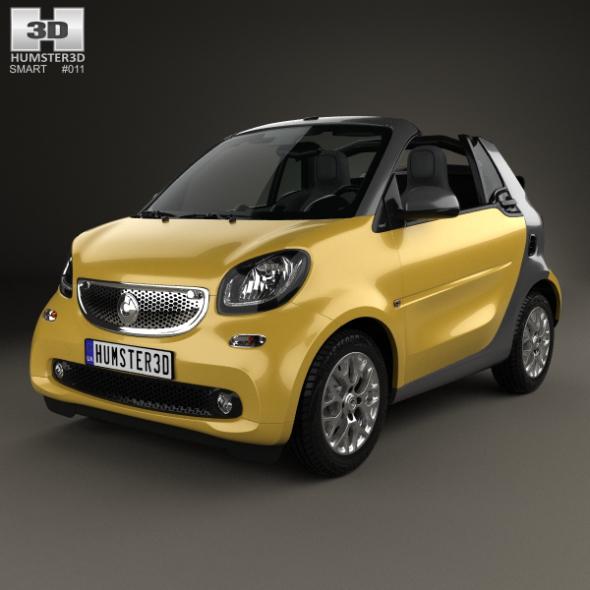 Smart Fortwo Cabrio 2014
