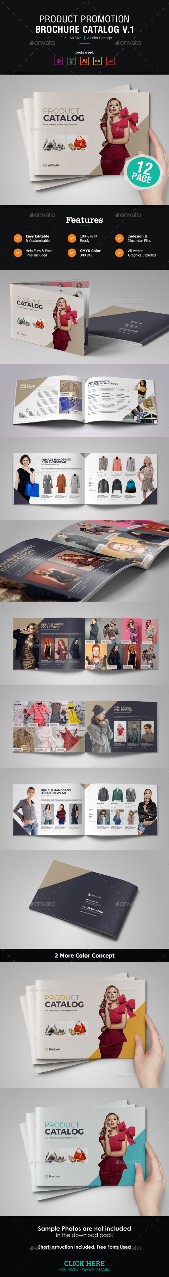 GraphicRiver Product Promotion Brochure Catalog 21130734