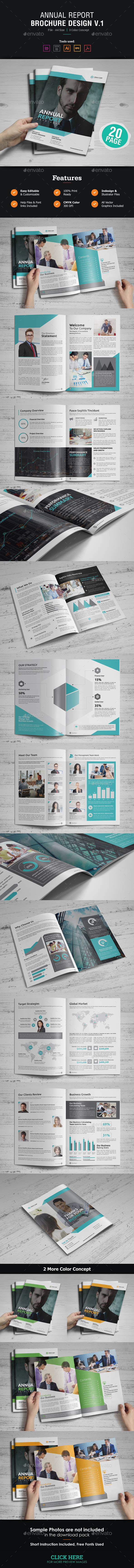 GraphicRiver Annual Report Design 21130786
