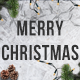 Merry Christmas - Facebook Cover & Avatar - GraphicRiver Item for Sale