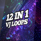 Cosmic Techno VJ Loops Pack - VideoHive Item for Sale