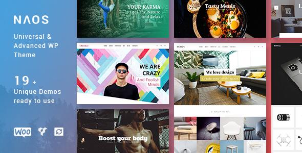 Image of Naos - Universal and Advanced WordPress Theme