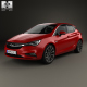 Opel Astra K with HQ interior 2016