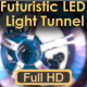 Futuristic LED Light Tunnel - VideoHive Item for Sale