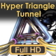 Hyper Triangle Tunnel - VideoHive Item for Sale