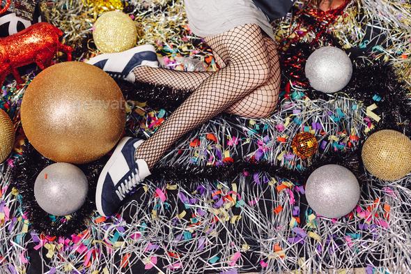 Seductive woman legs - Stock Photo - Images