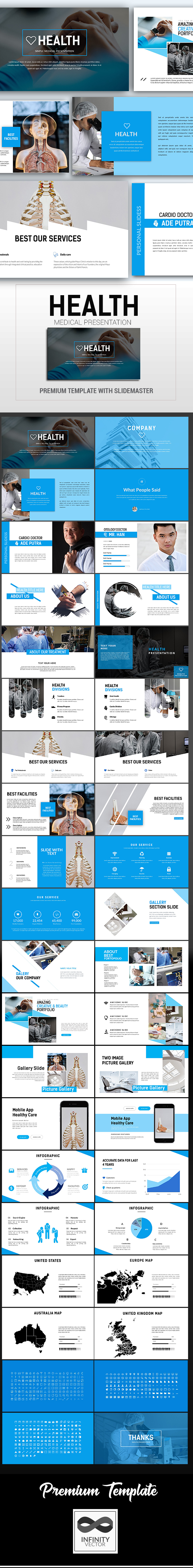 GraphicRiver Health Simple Medical Presentation Google Slide 21131327