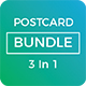 Postcard Bundle (3 in 1) - GraphicRiver Item for Sale