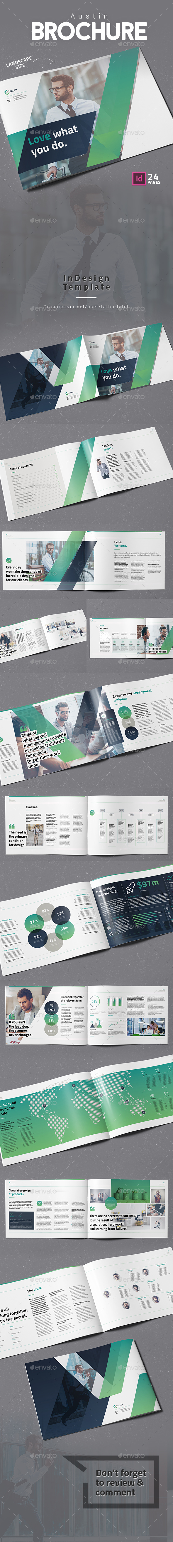 GraphicRiver Austin Brochure 21131398