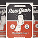 New Year Celebration Flyer - GraphicRiver Item for Sale