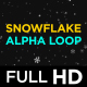 Snow Flakes Falling - VideoHive Item for Sale