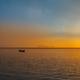 Fisherman boat with sunset scene in koh phangan. Horizontal imag - PhotoDune Item for Sale