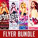 Club Flyer Bundle Vol.1 - GraphicRiver Item for Sale