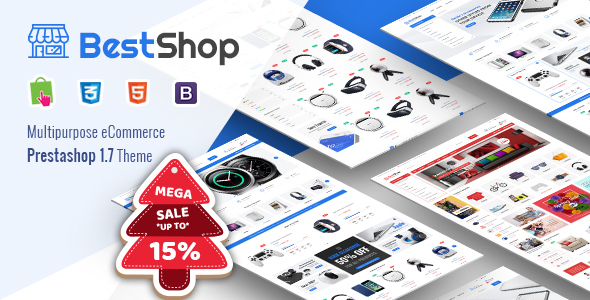 BestShop - Responsive PrestaShop 1.7 Digital/Furniture Store Theme - Shopping PrestaShop