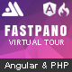 FastPano 360 - Virtual Tour Constructor