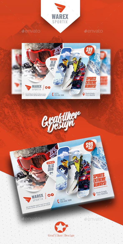 GraphicRiver Winter Adventure Flyer Templates 21132315