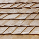 Wood shingle tiles on a roof. Finland traditional construction. Horizontal - PhotoDune Item for Sale