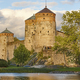 Savonlinna castle fortress tower. Finland landmark. Finnish heritage. Horizontal - PhotoDune Item for Sale