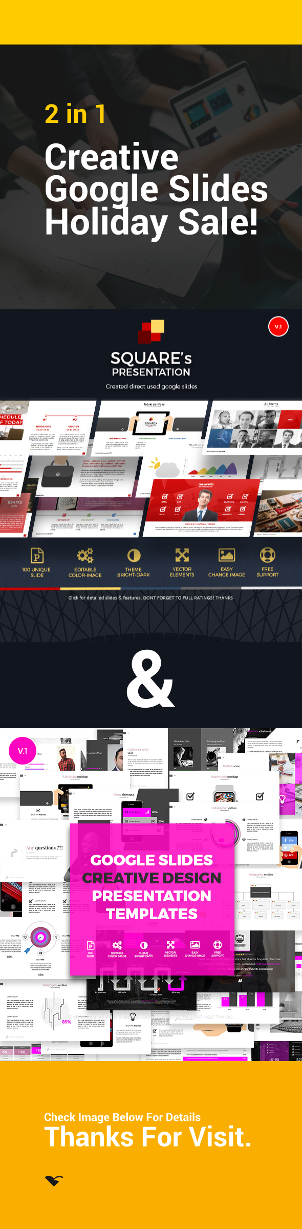 GraphicRiver Google Slides Template Bundle 21130993