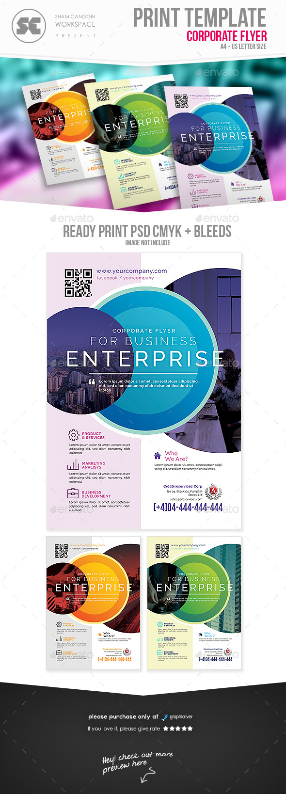 GraphicRiver Business Flyer 21132548