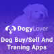 DogyLover - Dog Buy/Sell And Training Apps UI Kits - GraphicRiver Item for Sale