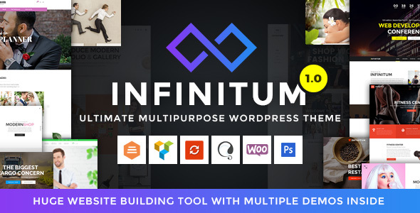 ThemeForest Infinitum Responsive Multi-Purpose WordPress Theme 20653161