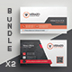 Business Card Bundle 45 - GraphicRiver Item for Sale