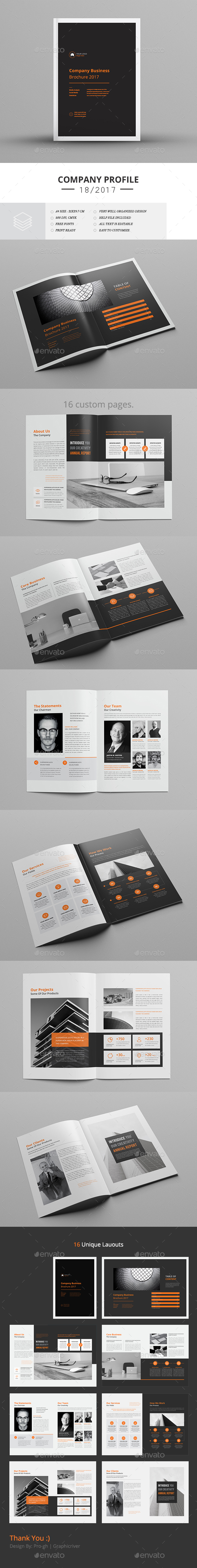 GraphicRiver Business Brochure 21132986