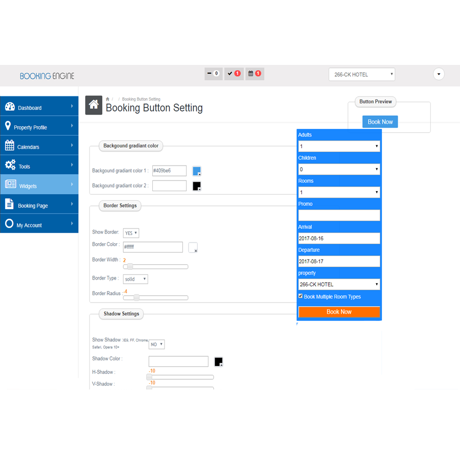 WordPress Hotel Booking System