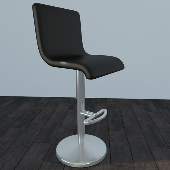 3DOcean bar stool 21133138
