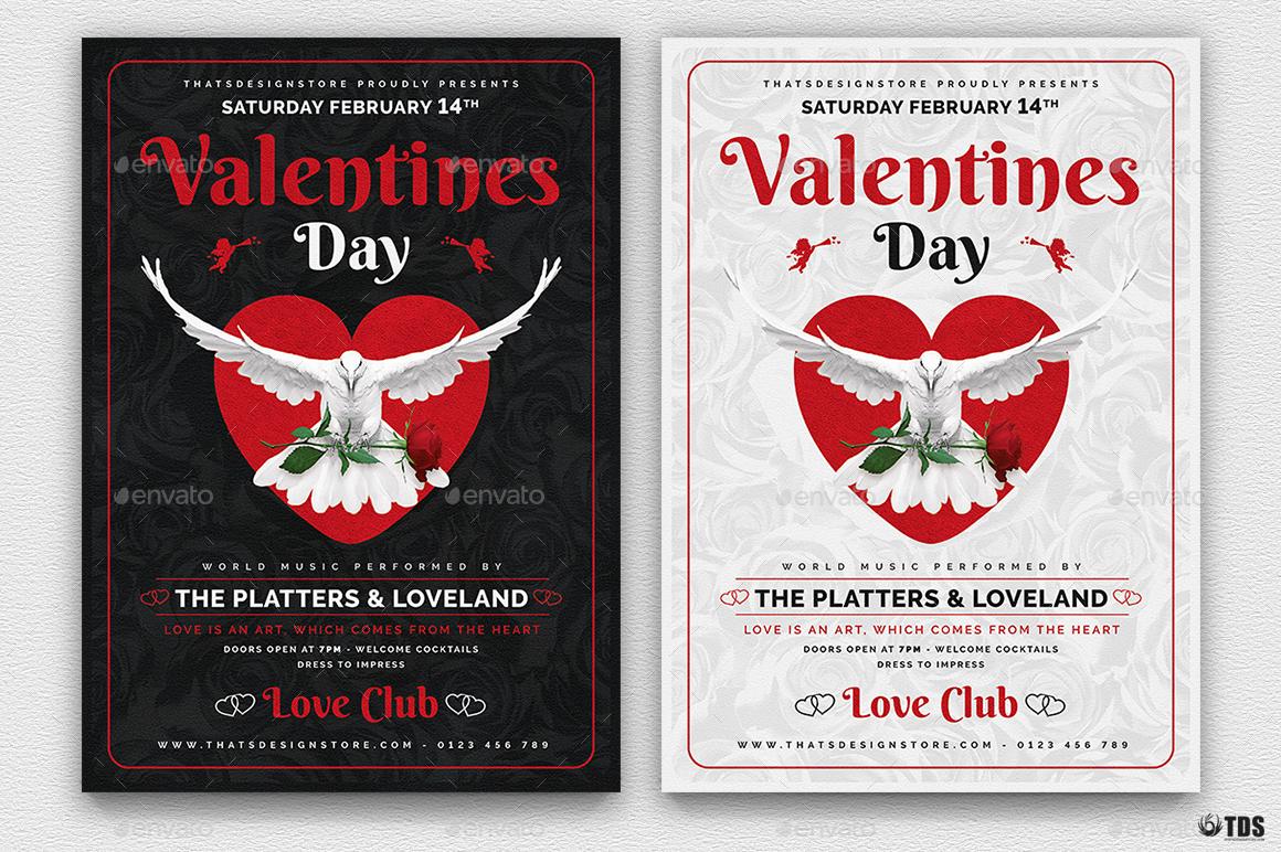 Valentines Day Flyer Template V13