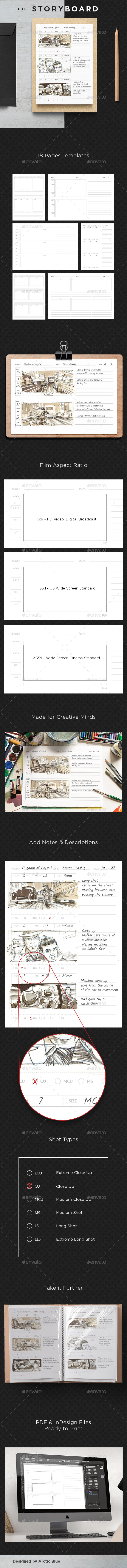 The Storyboard - Miscellaneous Print Templates