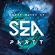 Under Sea Party Flyer