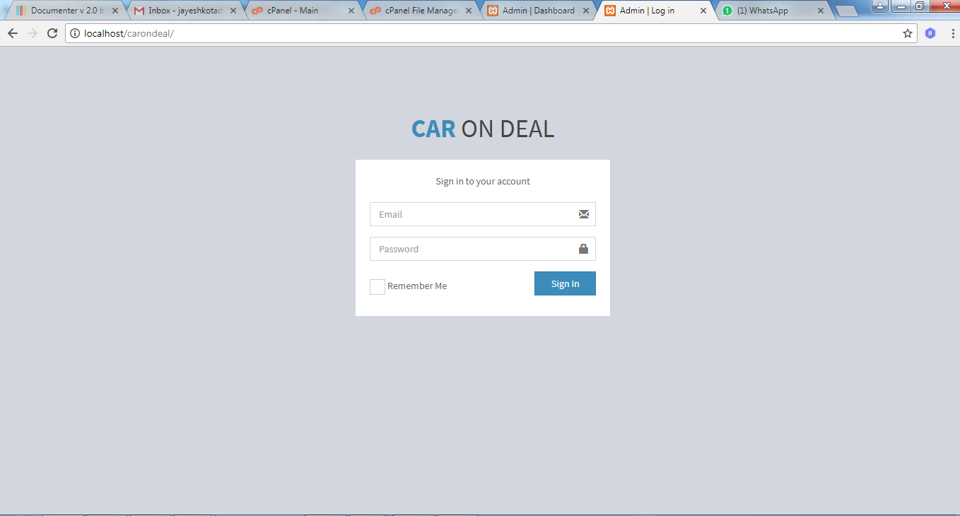 CAR ON DEAL - Buy And Sale Car Android App