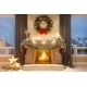 3d Illustration of a Christmas Interior with a