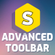 Advanced Toolbar — Superfly Menu Plugin Add-on - CodeCanyon Item for Sale