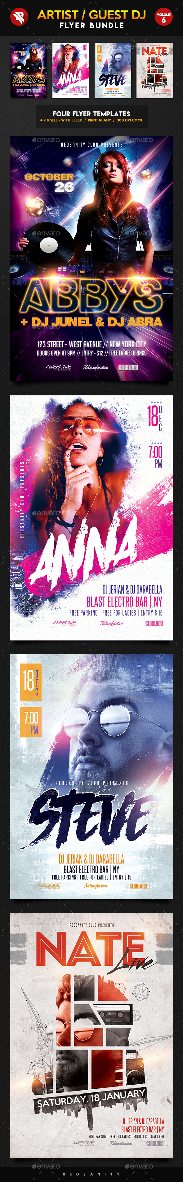 Guest DJ Bundle Vol.6 - Clubs & Parties Events