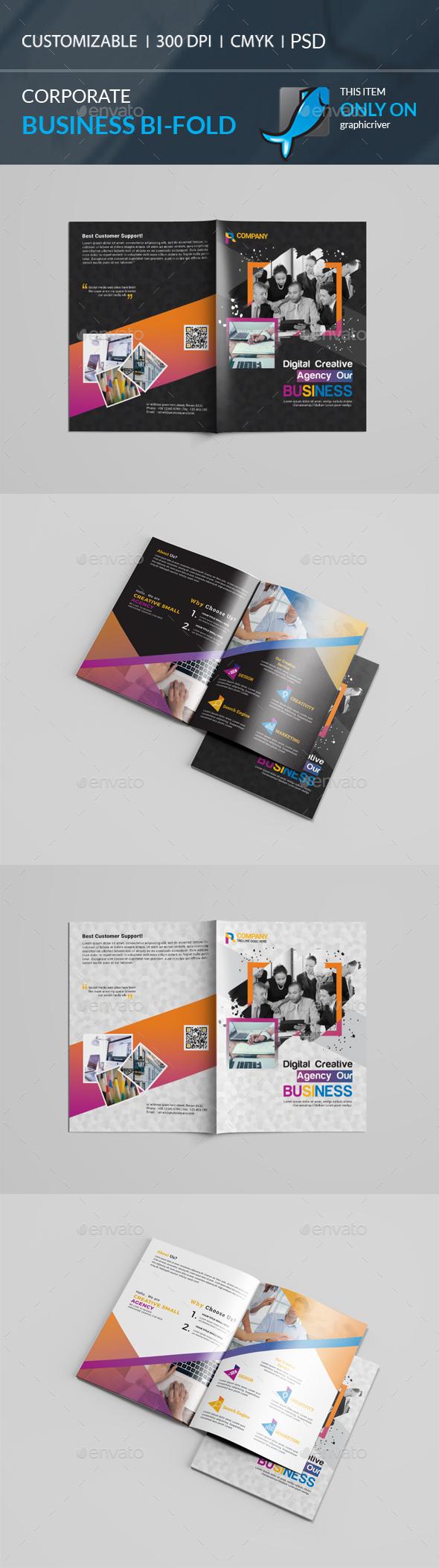 GraphicRiver Bi-Fold Brochure 21134056
