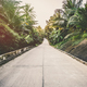 Road on tropical island - vintage retro style - PhotoDune Item for Sale