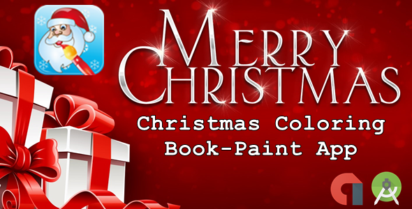CodeCanyon Christmas Coloring Book-Paint App 21134325
