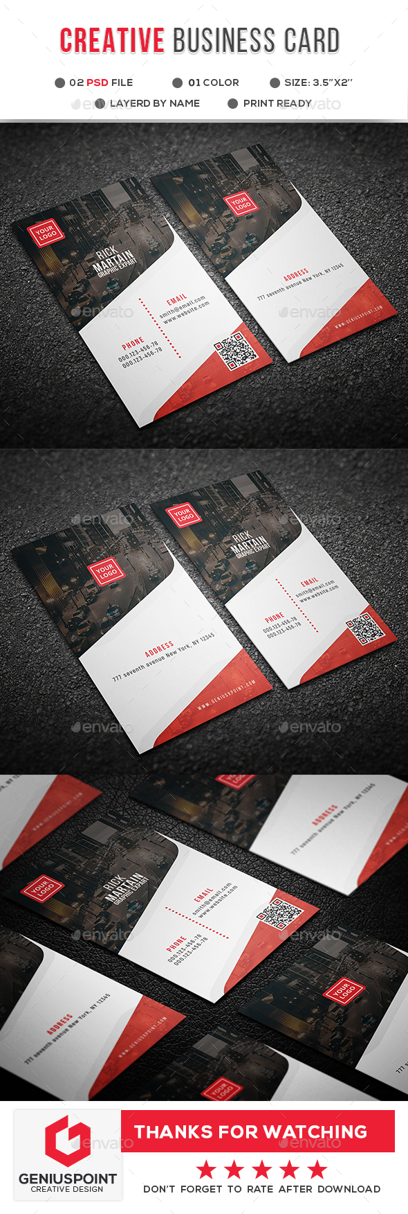 GraphicRiver Creative Business Card 21134400