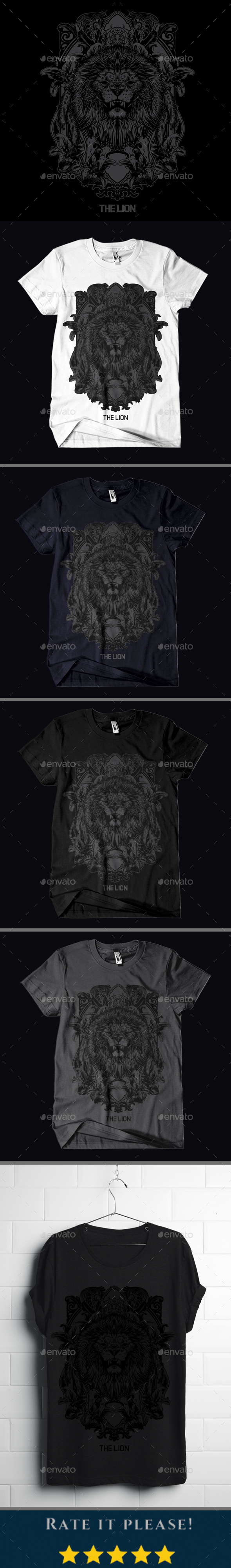 The Lion T-shirt Design - Designs T-Shirts