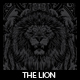 The Lion T-shirt Design - GraphicRiver Item for Sale