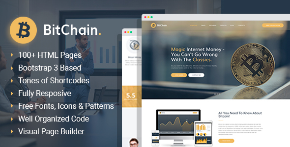 Top 10+ Best Crypto Currency Templates for Websites 2019 6