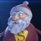 Santa Superhero - VideoHive Item for Sale