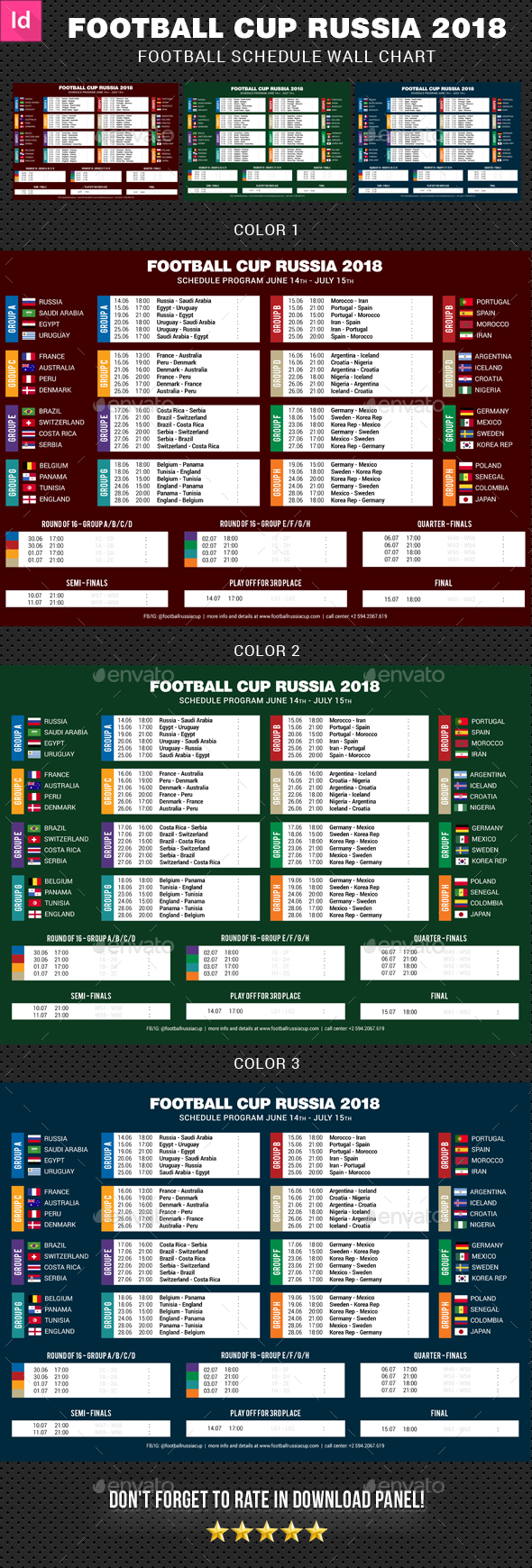 GraphicRiver Football Cup Russia 2018 Schedule 2 21134562